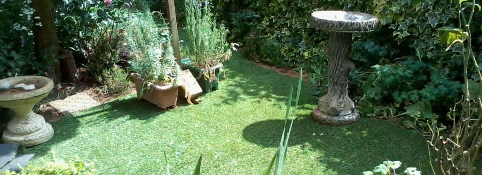 Laying artificial grass for easy maintenance